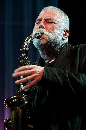 English: Peter Brötzmann, moers festival 2010