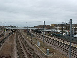 Peterborough railway station - Image: Peterborough train station 5666