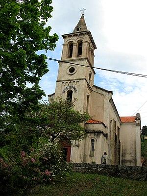 Inex-Adria Aviopromet Flight 1308 - Petreto-Bicchisano church, where the body identification took place
