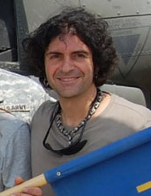 Phil Soussan - Soussan in Iraq, September 2008