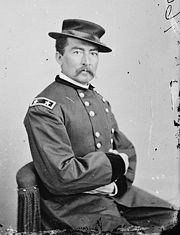 Sheridan portrait by Mathew Brady or Levin C. Handy.