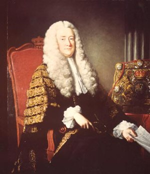 Gyles v Wilcox - Lord Hardwicke, the jurist who presided over the case.