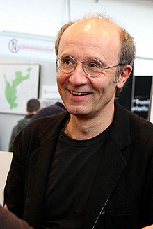 Philippe Geluck in Brussels in 2010
