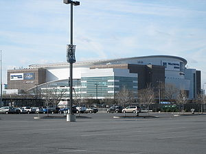 Wells Fargo Center (Philadelphia) - The Wells Fargo Center as the Wachovia Center