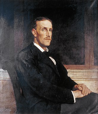 Ronald Collet Norman - Ronald Collet Norman (1873-1963), Chairman of the BBC; City of London Corporation; by Glyn Philpot