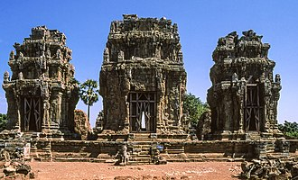 Phnom Krom - view of Phnom Krom temple