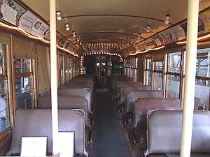 Phoenix Street Railway - Image: Phoenix Phoenix Trolley Museum Trolley Car 116 3