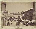 Piac a Városház téren, a Március 15. (Eskü) tér felől nézve. - Budapest, Fortepan 82340.jpg