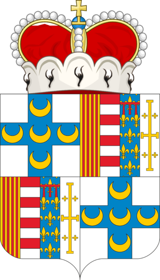 Ottavio Piccolomini - Coat of Arms of Ottavio Piccolomini Pieri d'Aragona
