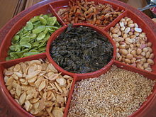Pickled tea (lahpet).JPG