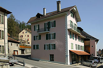 Lucens - Houses in Lucens