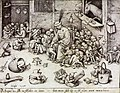 Pieter Bruegel the Elder - The Ass in the School - WGA03526.jpg
