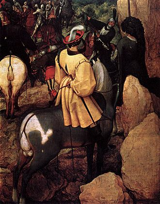 Conversion of Paul (Bruegel) - Detail from right composition