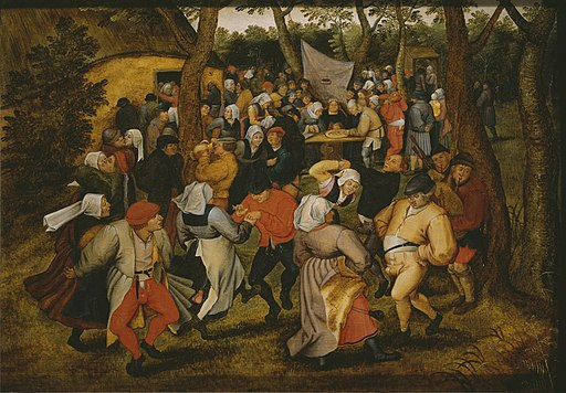 Pieter Brueghel the Younger - Peasant Wedding Dance (Paris, Louvre)