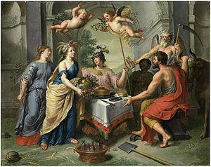 Pieter van Lint - Labour rewarded by Abundance and Peace