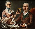 Pietro Fabris (attr) Couple at a table.jpg