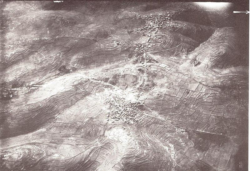 טיסת צילום מעל אל בירה ורמאללה 1918