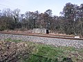 Pillbox overlooking the railway and Kennet and Avon Canal, Kintbury 04.jpg