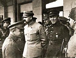 Piłsudski i Petlura Kijów 1920