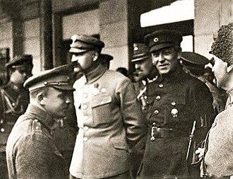 Symon Petliura -  Józef Piłsudski and Symon Petliura Kiev, May 1920