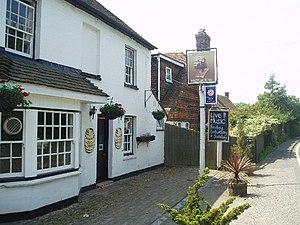 Piltdown, East Sussex - The Piltdown Man pub in Piltdown