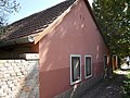Pink dwelling building. - Felső Street, Érd.JPG