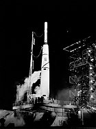 Pioneer I on the Launch Pad - GPN-2002-000204