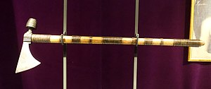 Treaty of Easton - Iroquois pipe tomahawk, said to be from the Easton peace talks