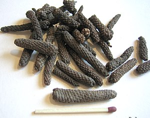 Long pepper - Dried long pepper catkins