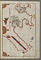 Piri Reis - Map of the Tunisian Coast with the Ports of Bizerte and Tunis as Far as Kelibia - Walters W658279B - Full Page.jpg