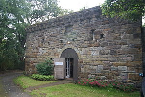 Pittenweem Priory - The fortified east gatehouse in 2015