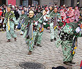 Plätzlerzunft Weingarten Schlösslenarr Narrentreffen Meßkirch 2006.jpg