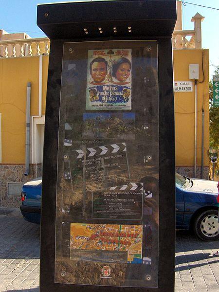 File:Placa Ruta del Cine Almería - Alcazaba.JPG