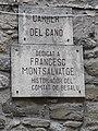 Placa commemorativa de Francesc Montsalvatge a Besalú.jpg