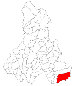 Location of Plăieşii de Jos