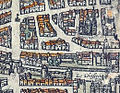 Plan de Paris vers 1530 Braun Paris Porte St-Honore enceinte PA.jpg