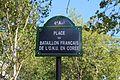 Plaque place Bataillon français ONU Corée Paris 3.jpg