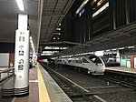 Platform of Hakata Station at night.jpg