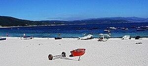 Fisterra - Langosteira beach.