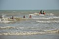 Playful People with Sea Waves - New Digha Beach - East Midnapore 2015-05-01 8767.JPG