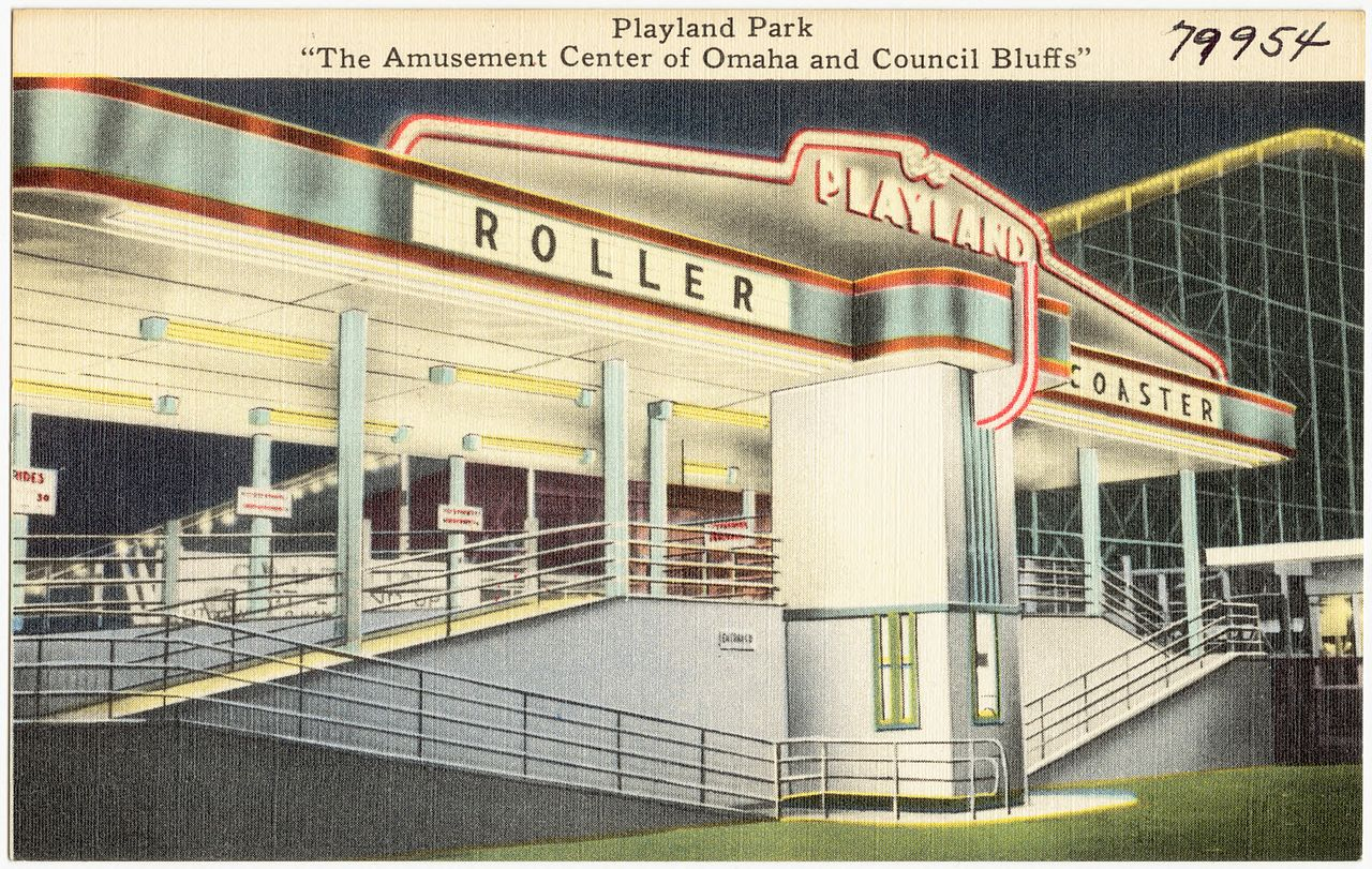 File Playland Park The Amusement Center Of Omaha And