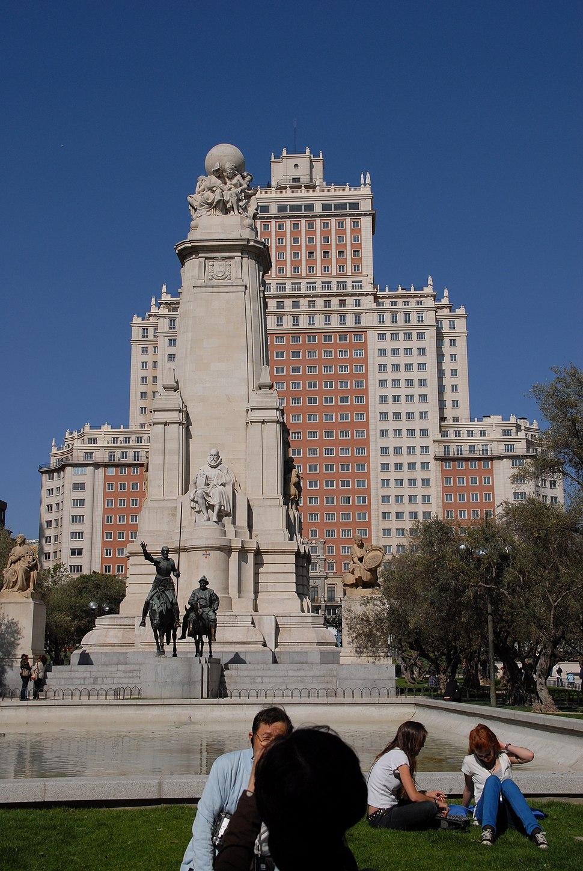 Plaza de Espana 2008 - panoramio