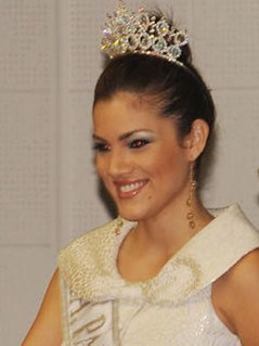 Anyolí Ábrego Panamanian beauty pageant winner