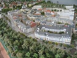 Maquette d'urbanisme au Plessis-Robinson