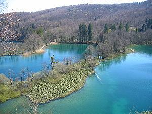 Plitvice Lakes, Lake Okrugljak