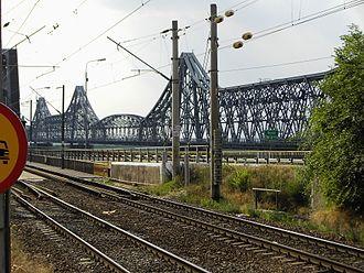 Cernavodă - Image: Podul lui Saligny
