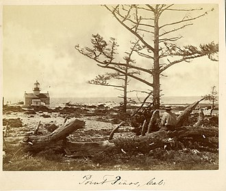 Point Pinos Lighthouse - Image: Point Pinos Lighthouse 1871