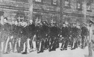 Koronowo - Image: Polish inmates in Koronowo prison