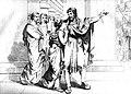 Polycrates leaving his daughter to encounter Oroetus.jpg