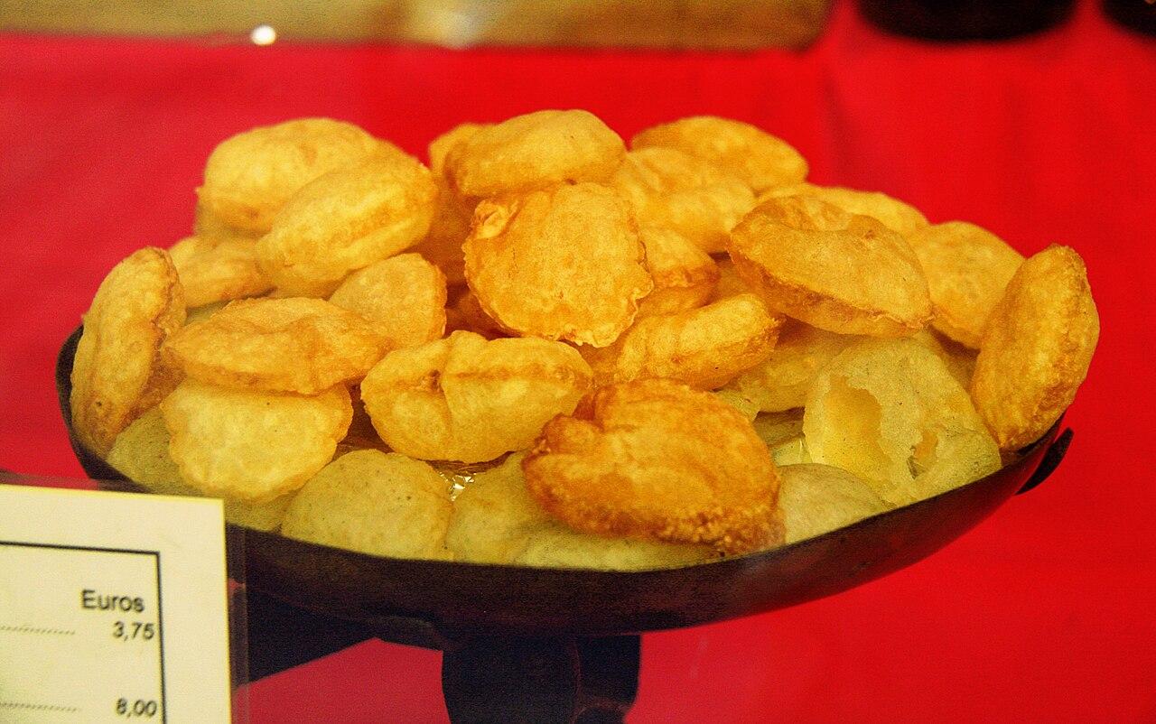 Image of pommes soufflées